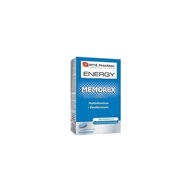 Energy Memorex 28 comprimidos