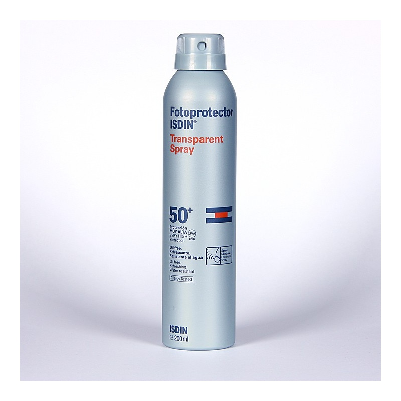 Isdin Transparent Spray 50+ 200ml