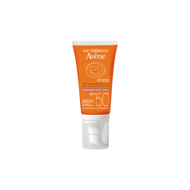 Avene Emulsión Color Oil Free 50+ 50ml