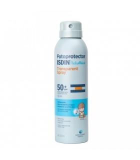 Isdin Transparent Spray Pediatrico 50+ 200ml
