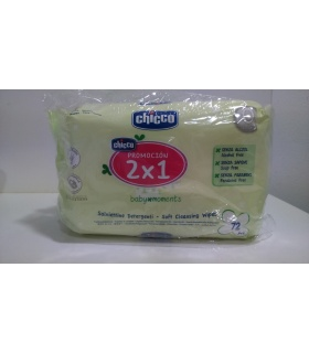 Toallitas Chicco Duplo 2x72uds