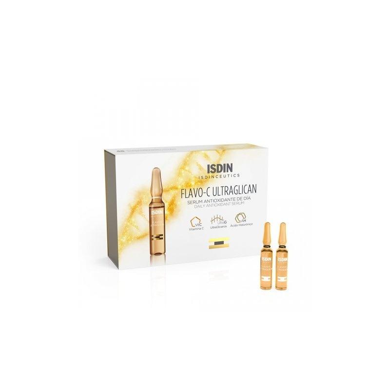 Isdinceutics Flavo-C Ultraglican 30 ampollas