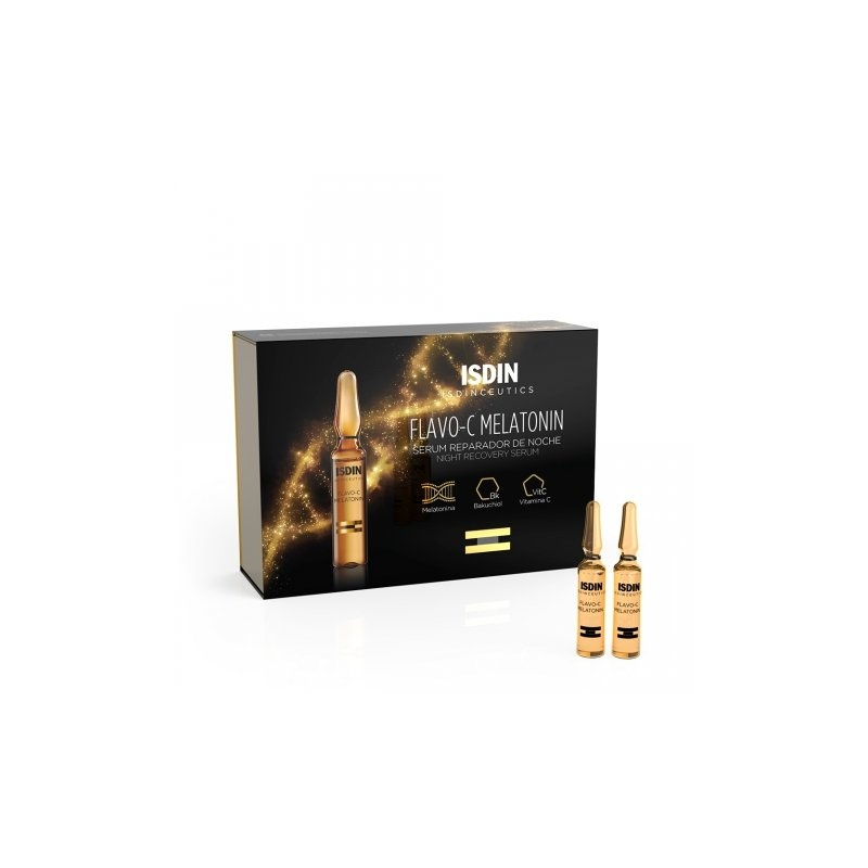 Isdinceutics Flavo-C Melatonin 30 ampollas 2ml