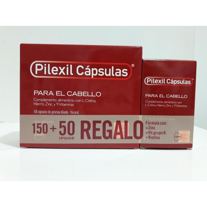 PilexilCápsulas Forte Cabello-Uñas 120 cápsulas