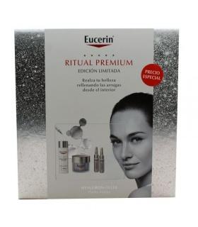 Cofre Eucerin Hyaluron-Filler Piel Normal Mixta Crema Día 50ml+ Noche 50ml+ 2 Ampollas 5ml