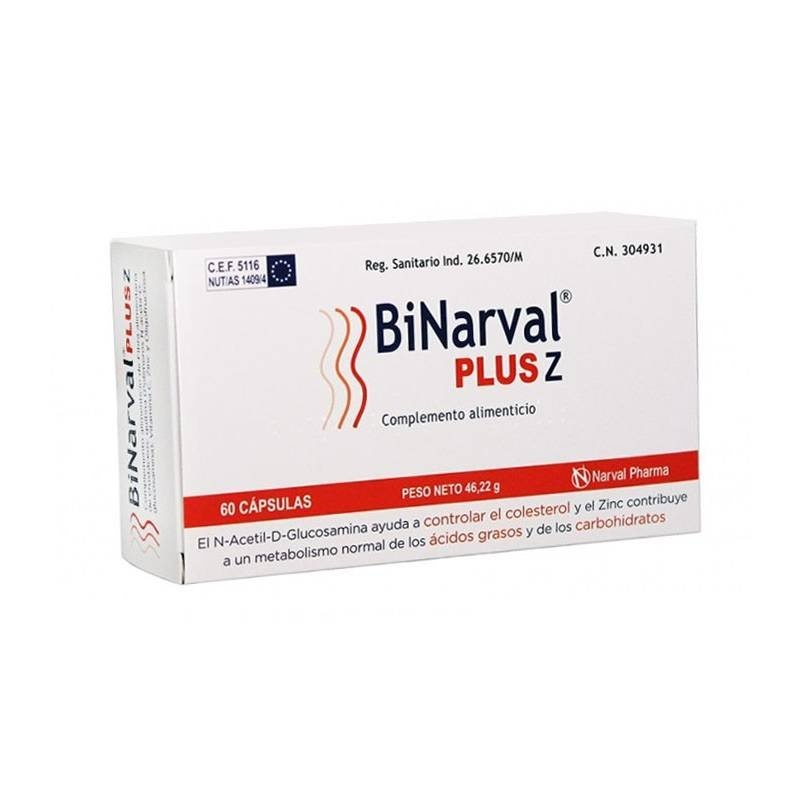 Binarval Plus 60 cápsulas