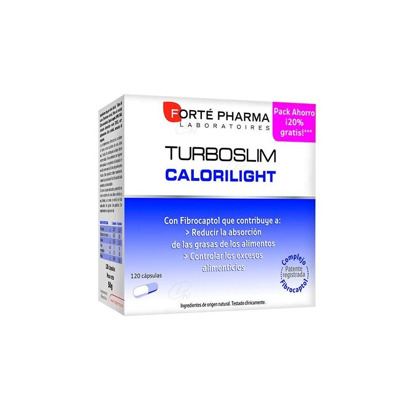 TURBOSLIM CALORILIGHT120 CAPS