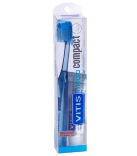 Cepillo Vitis Compact Medio+pasta 15ml