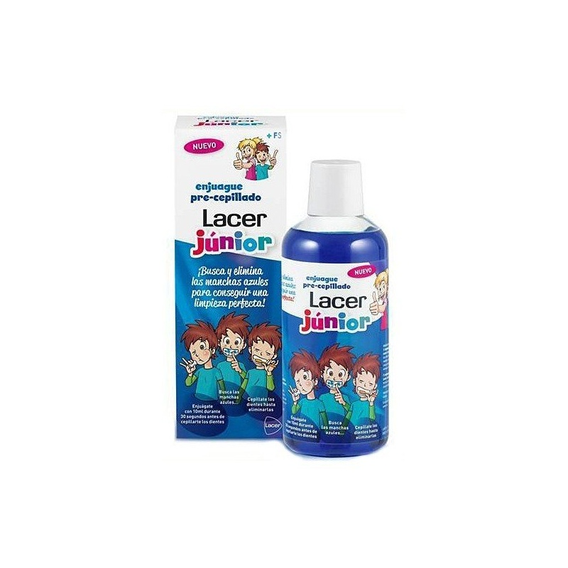 LACER JUNIOR ENJUAGUE 500 ML