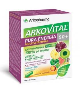 Arkovital Pura Energía Senior 50+, 60 cápsulas