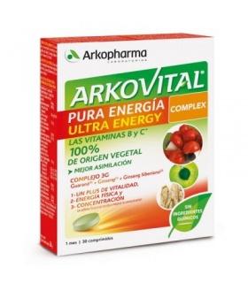 Arkovital Pura Energía Ultra 30 comprimidos