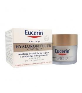 Pack Eucerin Elasticity Filler Crema Día 50ml + Agua Micelar + Sun Fluído Antiedad 5ml